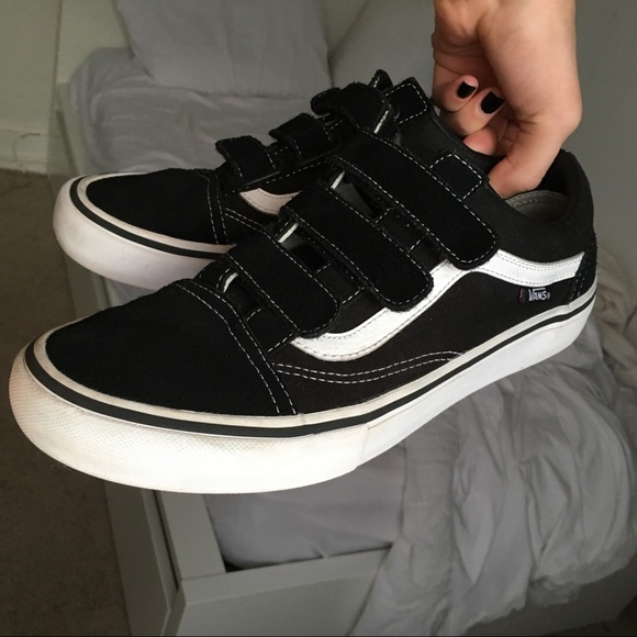 vans damen old skool black pro